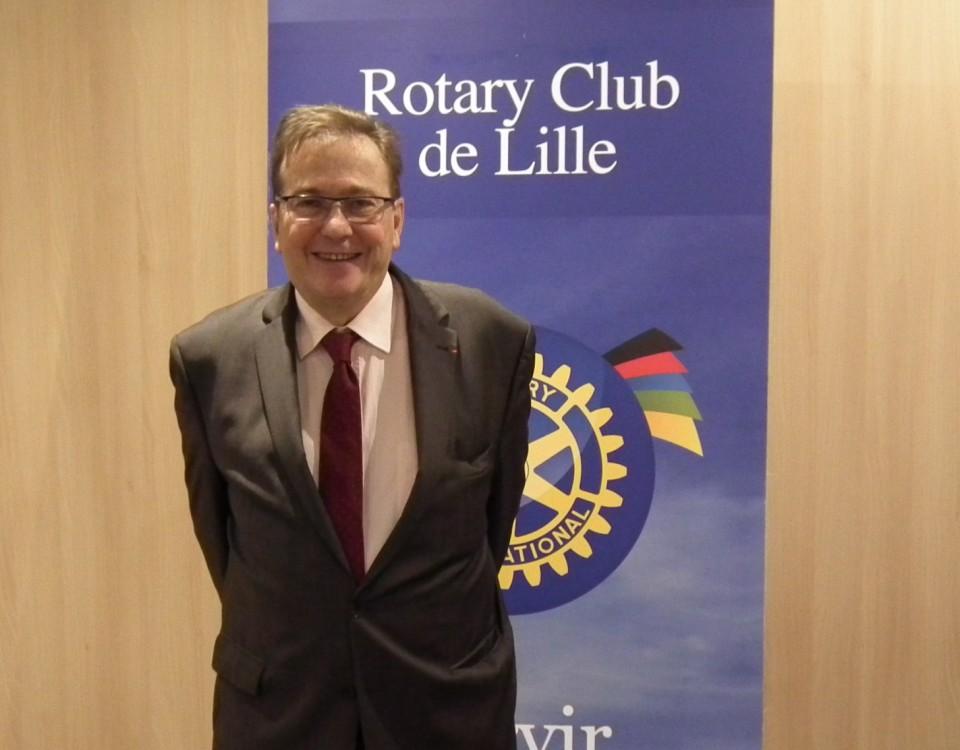 Sylvain CAILLE Président Elu Rotary Club de Lille 2016 2017